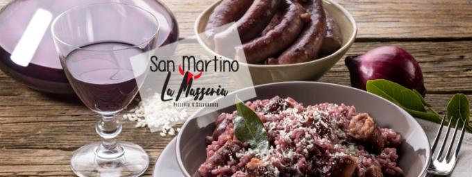 San Martino tra grigliata e vino rosso