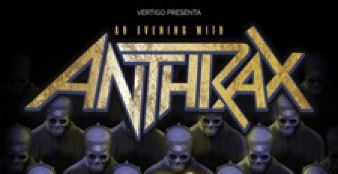 "ANTHRAX: suonano dal vivo e per intero ""Among The Living"" - unica data italiana!"