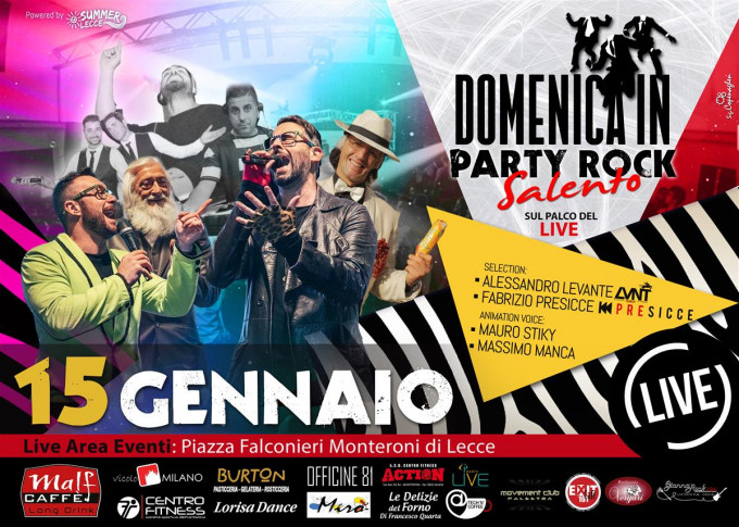 Domenica In Party Rock Salento