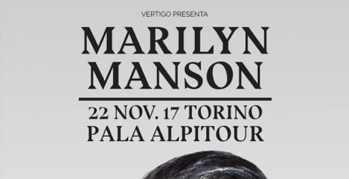 MARILYN MANSON: nuova data a Torino