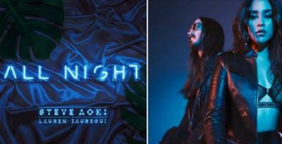 "Steve Aoki e Lauren Jauregui (Fifth Harmony) presentano il nuovo brano ""All Night"""