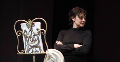 ELENA ARVIGO / MONOLOGHI DELL'ATOMICA, ven 23 e sab 24/3 Teatro delle Donne - Calenzano (Firenze)