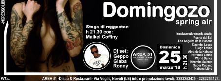 DOMINGOZO - stage reggaeton maikel coffiny