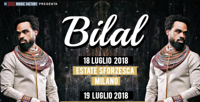 BILAL: torna in Italia per due date estive!