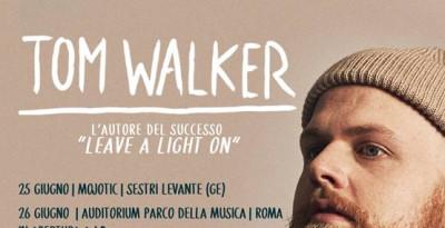 TOM WALKER in tour in Italia a Novembre!!