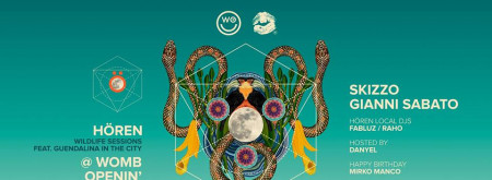 24-11-2018 HÖREN Wildlife Session at WOMB (Lecce)