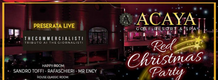 Acaya Red Christmas Party
