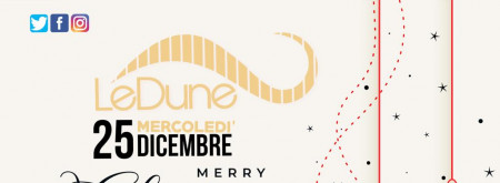 MERRY CHRISTMAS - LE DUNE