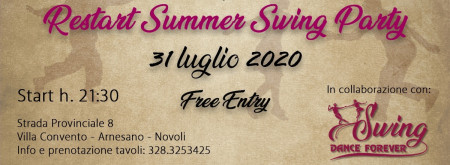 SUMMER SWING PARTY