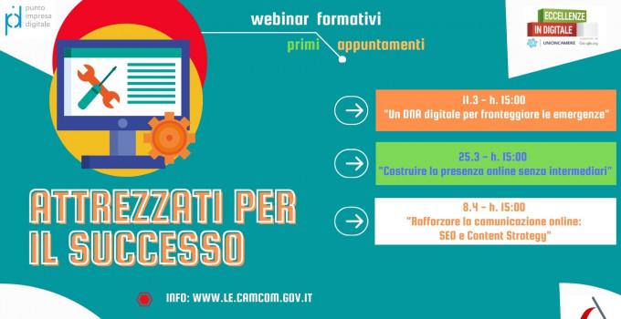 Eccellenze in Digitale 2020-2021 promosso da Camera di Commercio di Lecce